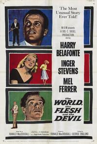 The World, the Flesh and the Devil - 11 x 17 Movie Poster - Style A