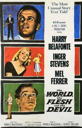 The World, the Flesh and the Devil - 27 x 40 Movie Poster - Style A