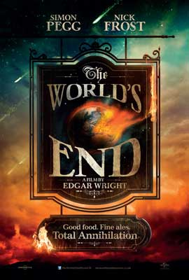 The World's End - 11 x 17 Movie Poster - UK Style A