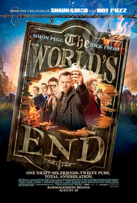 The World's End - 11 x 17 Movie Poster - Style A