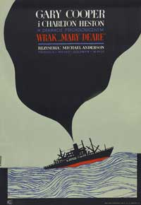 The Wreck of the Mary Deare - 11 x 17 Movie Poster - Polish Style A
