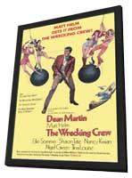 The Wrecking Crew - 11 x 17 Movie Poster - Style A - in Deluxe Wood Frame