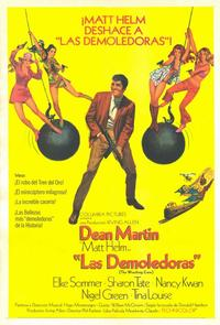 The Wrecking Crew - 11 x 17 Movie Poster - Spanish Style A