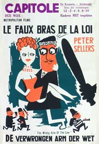 The Wrong Arm of the Law - 27 x 40 Movie Poster - Belgian Style A