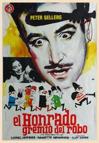 The Wrong Arm of the Law - 11 x 17 Movie Poster - Spanish Style B