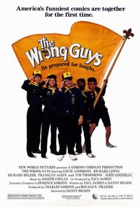 The Wrong Guys - 11 x 17 Movie Poster - Style B