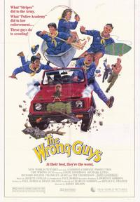 The Wrong Guys - 27 x 40 Movie Poster - Style A