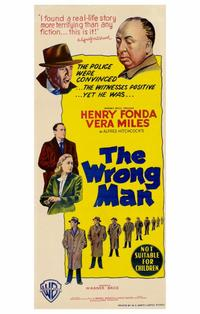The Wrong Man - 11 x 17 Movie Poster - Style B