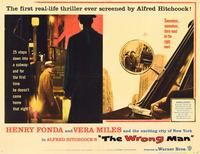 The Wrong Man - 11 x 14 Movie Poster - Style B