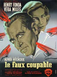 The Wrong Man - 11 x 17 Movie Poster - French Style A