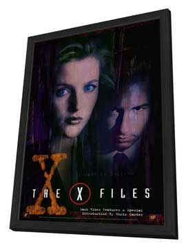 The X-Files - 27 x 40 Movie Poster - Style C - in Deluxe Wood Frame