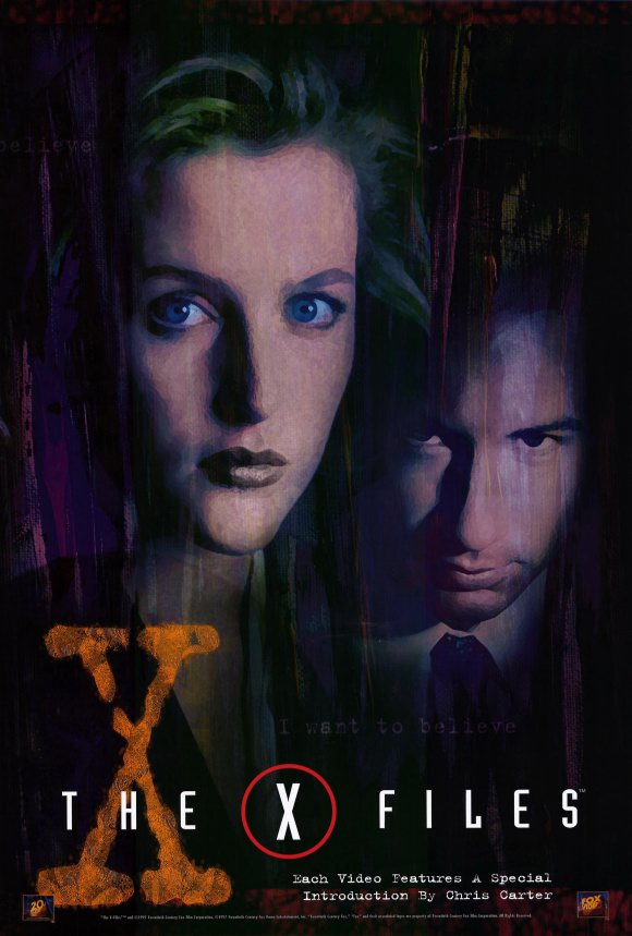 The X-Files  X Files Poster