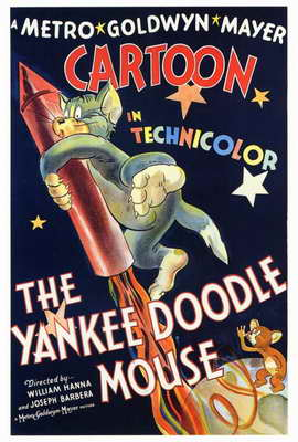 The Yankee Doodle Mouse - 27 x 40 Movie Poster - Style A