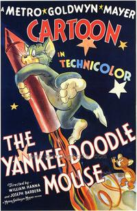 The Yankee Doodle Mouse - 43 x 62 Movie Poster - Bus Shelter Style A