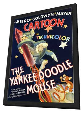The Yankee Doodle Mouse - 11 x 17 Movie Poster - Style A - in Deluxe Wood Frame