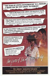 The Year of Living Dangerously - 11 x 17 Movie Poster - Style B
