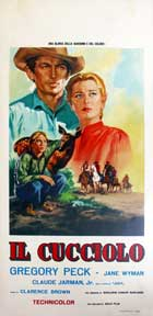 The Yearling - 13 x 28 Movie Poster - Italian Style A