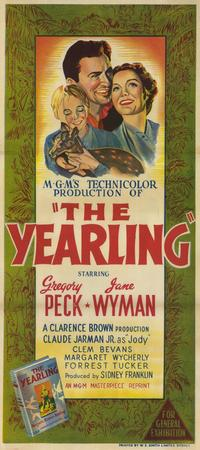 The Yearling - 11 x 17 Movie Poster - Australian Style A