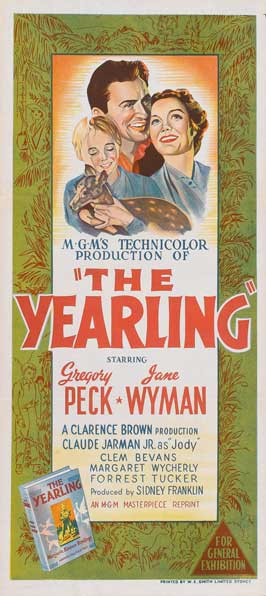 The Yearling - 13 x 30 Movie Poster - Australian Style A