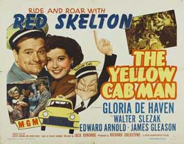 The Yellow Cab Man - 22 x 28 Movie Poster - Half Sheet Style A