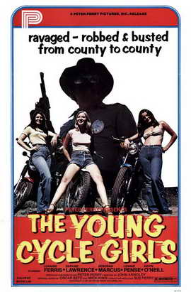 The Young Cycle Girls - 11 x 17 Movie Poster - Style A