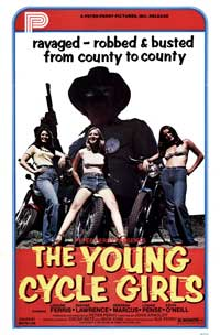 The Young Cycle Girls - 27 x 40 Movie Poster - Style A