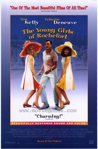 The Young Girls of Rochefort - 27 x 40 Movie Poster - Style A