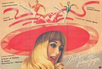 The Young Girls of Rochefort - 27 x 40 Movie Poster - Russian Style A