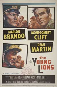 The Young Lions - 27 x 40 Movie Poster - Style E