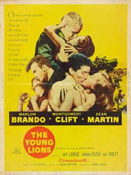 The Young Lions - 27 x 40 Movie Poster - Style C
