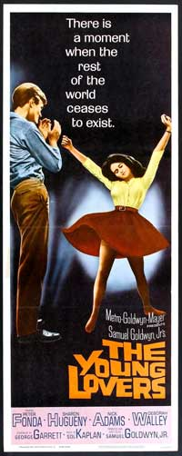 The Young Lovers - 14 x 36 Movie Poster - Insert Style A