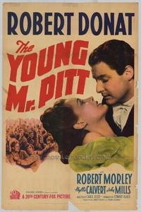 The Young Mr. Pitt - 11 x 17 Movie Poster - Style A
