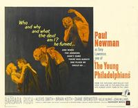 The Young Philadelphians - 22 x 28 Movie Poster - Half Sheet Style A