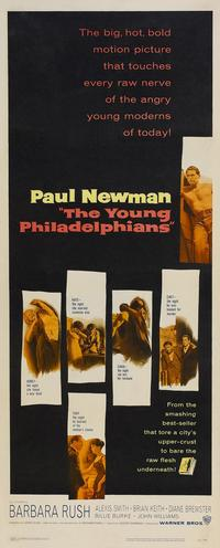 The Young Philadelphians - 14 x 36 Movie Poster - Insert Style A