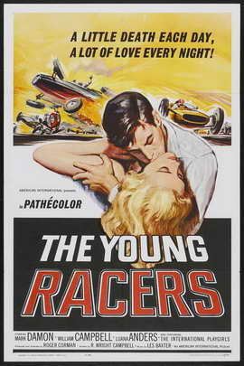 The Young Racers - 11 x 17 Movie Poster - Style A