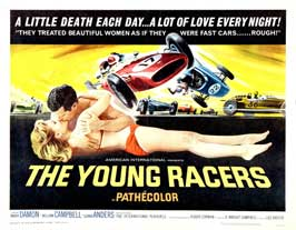 The Young Racers - 11 x 14 Movie Poster - Style A