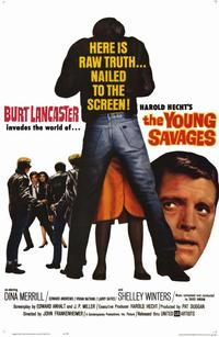 The Young Savages - 11 x 17 Movie Poster - Style A