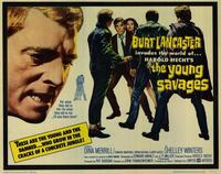 The Young Savages - 11 x 14 Movie Poster - Style A