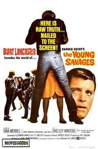 The Young Savages - 27 x 40 Movie Poster - Style A
