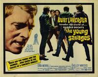 The Young Savages - 22 x 28 Movie Poster - Half Sheet Style A