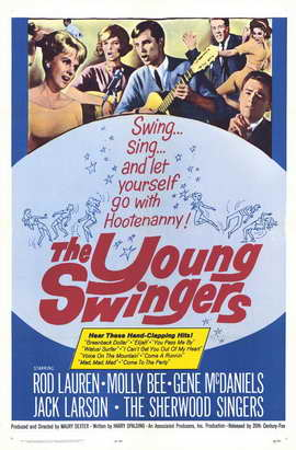 The Young Swingers - 27 x 40 Movie Poster - Style A