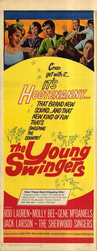 The Young Swingers - 14 x 36 Movie Poster - Insert Style A