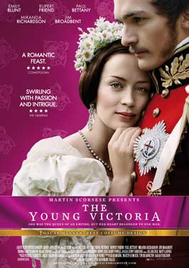 The Young Victoria - 11 x 17 Movie Poster - Swiss Style A