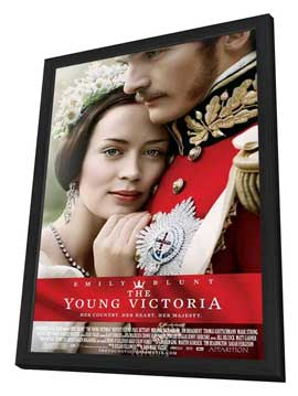 The Young Victoria - 11 x 17 Movie Poster - Style C - in Deluxe Wood Frame