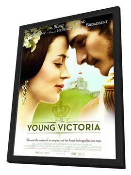 The Young Victoria - 27 x 40 Movie Poster - Style B - in Deluxe Wood Frame