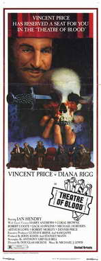Theatre of Blood - 14 x 36 Movie Poster - Insert Style A