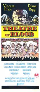 Theatre of Blood - 14 x 36 Movie Poster - Australian Style A
