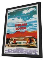 Thelma & Louise - 11 x 17 Movie Poster - French Style A - in Deluxe Wood Frame