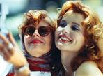 Thelma & Louise - Thelma & Louise in White Dress
