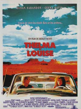 Thelma & Louise - 11 x 17 Movie Poster - French Style A